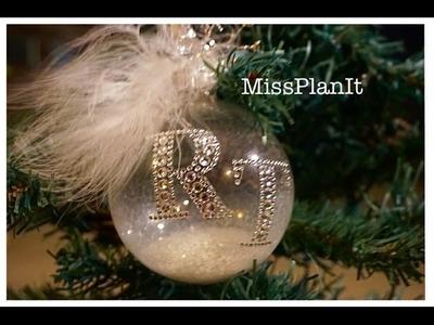 DIY: Elegant Ornament  Favor for Under $3.50!