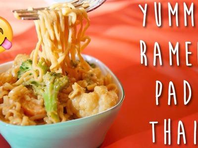 DIY FAST Pad Thai - Spice Up Your Ramen!   KKLemonCake