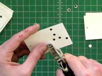 DIY Hole Punch Flipbook by Scott Blake