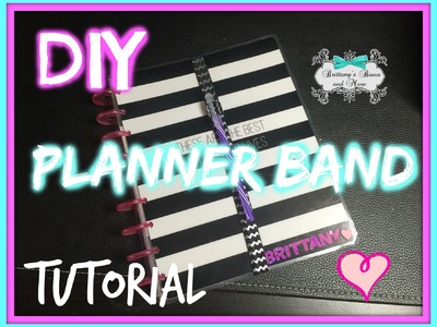 DIY | How To Make a Planner Band in 3 Easy Steps!!