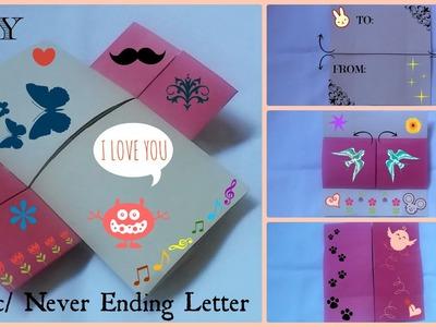 DIY: Magic.Never Ending Letter   Valentine's Day   Gift Ideas