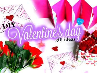 DIY Valentines Day  GIFT IDEAS! | Quick and Easy DIY's!!!