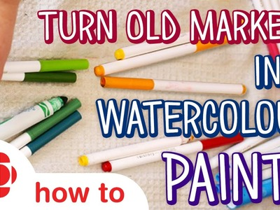 DIY Water Colour Paints | Monkey Makes | Crafts For Kids