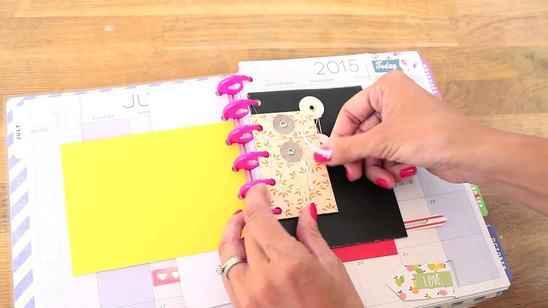 Easy Planner DIY: How to Add Pages to Your Planner