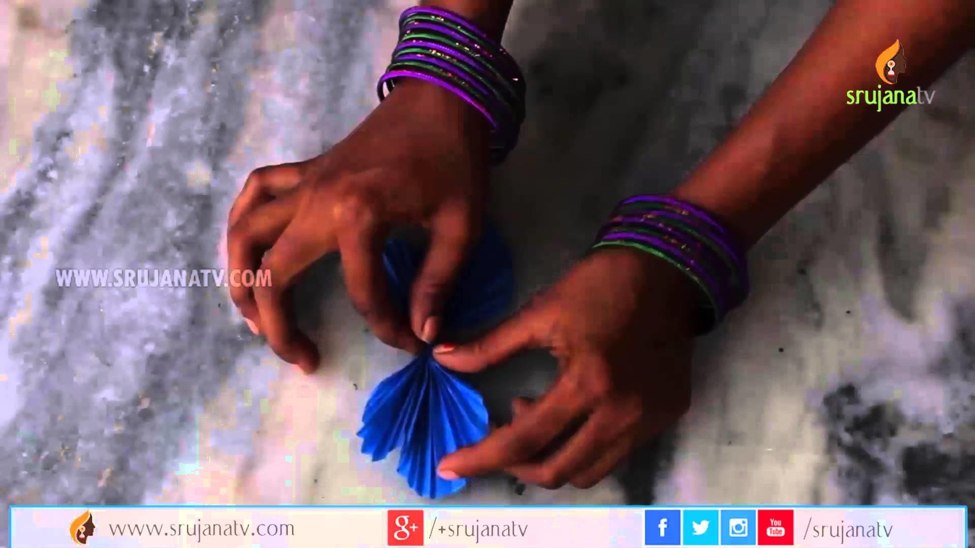 Handmade Paper Butterfly by SrujanaTV