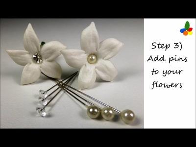 How to buy fresh Stephanotis and make your own Stephanotis corsage