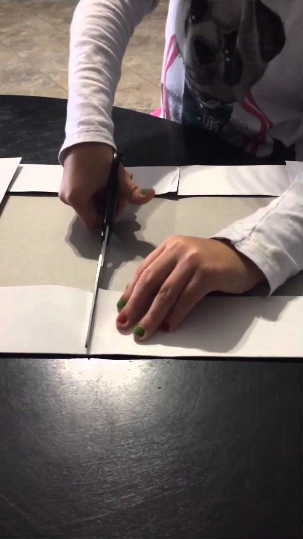 How to make a gift box with one lid