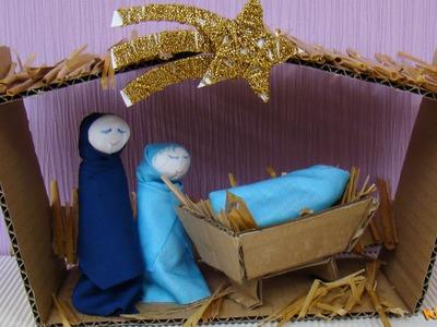 How to make a Nativity Scene? DIY