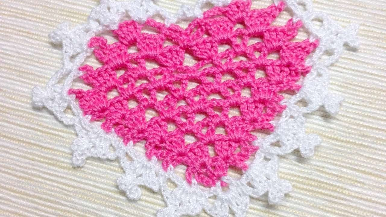 How To Make A Tender Crocheted Heart Applique - DIY Crafts Tutorial - Guidecentral