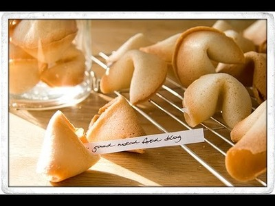 How to make fortune cookies easy - Homemade fortune cookies recipe