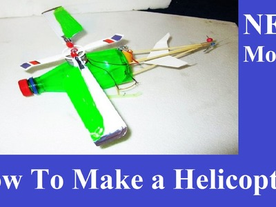 How to make helicopter at home - how to make a helicopter with motor at home