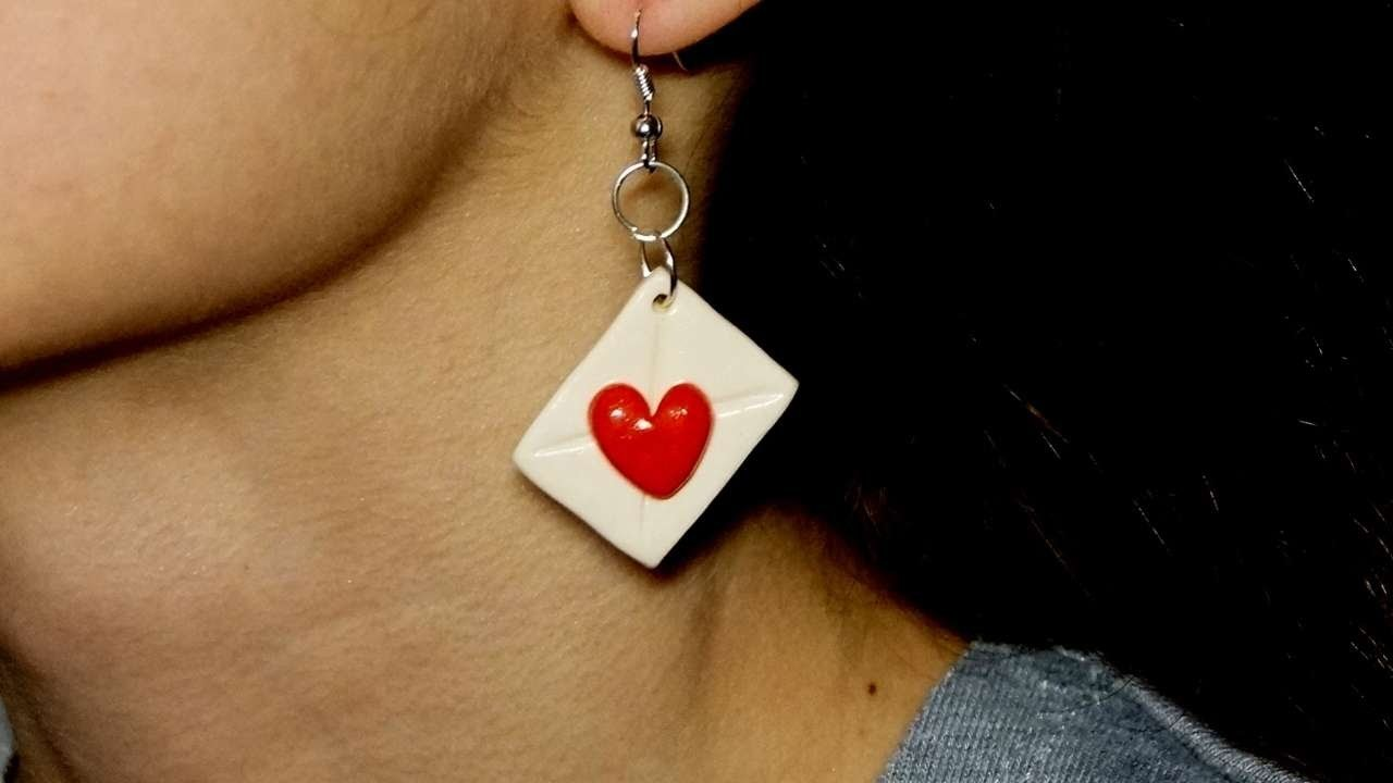 How To Make Love Letter Earrings - DIY Crafts Tutorial - Guidecentral