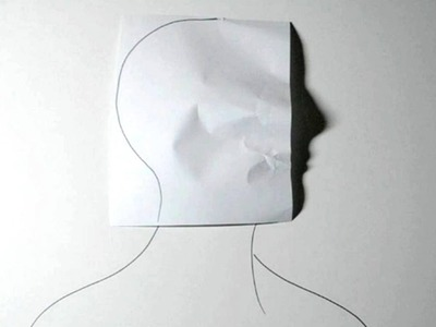 How to Make Shadow Portrait Art - Cool Optical Illusion
