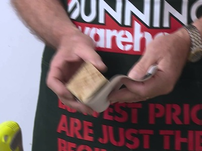 How To Sand Walls - DIY At Bunnings