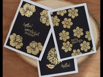 How to Use Gilding Flakes for Tupelo Designs LLC