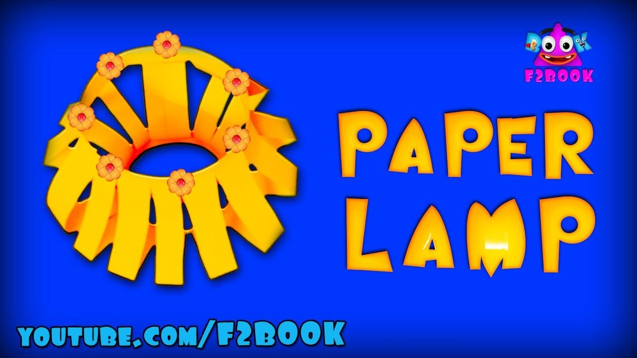 Light Lamp  Paper - Origami Folding Instructions