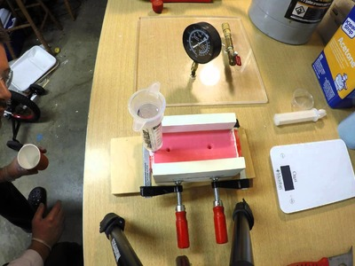 Resin Casting in 3D printed mold for Toilet Paper Brake