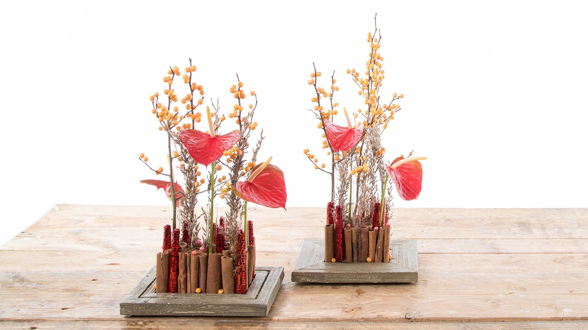 Tiny Christmas Landscape | Flower Factor How To | Flower Arrangement