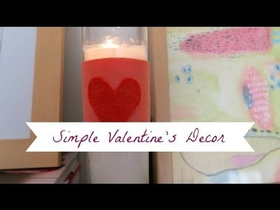 Valentine's Home Tour 2016  | DIY | Pretty in Pink