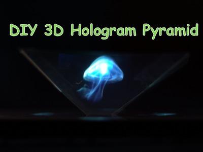 how to make hologram pyramid