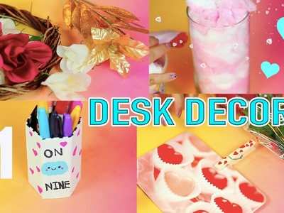 DIY Dollar Tree Valentine's Day Desk Decors and Ideas for your room