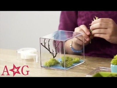 DIY Teeny Terrarium Craft | American Girl
