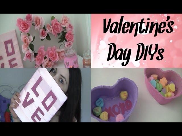 DIY Valentine's Day Room Decor + Gifts! (Tumblr.Pinterest Crafts)