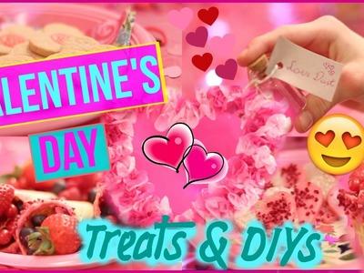 DIY Valentine's Day Treats & Decor | Cute, Fun & Easy