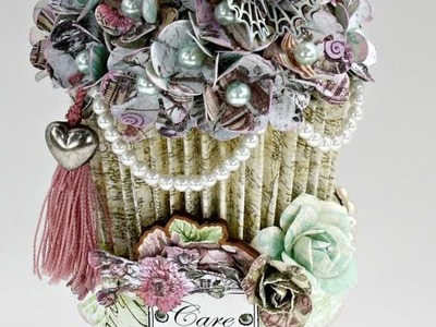 Garden Fable Paper Cupcakes on Live with Prima