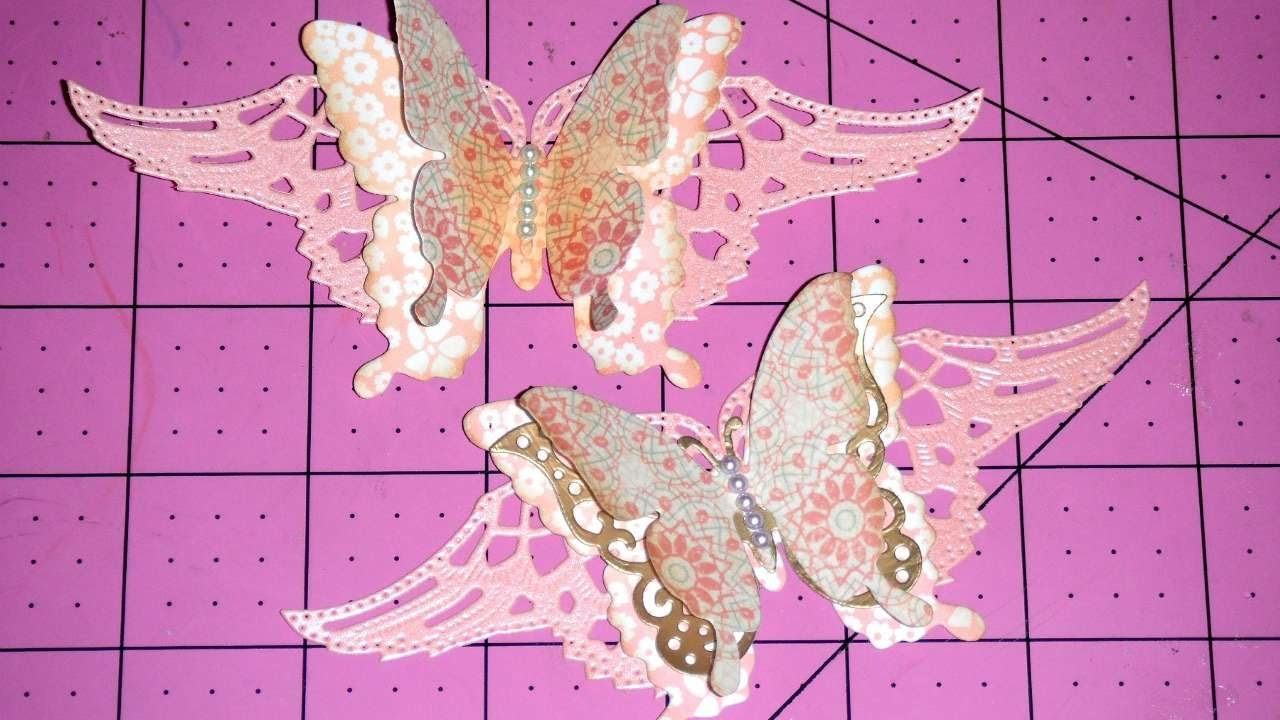 How To Layered Butterfly Embellishments - DIY Crafts Tutorial - Guidecentral