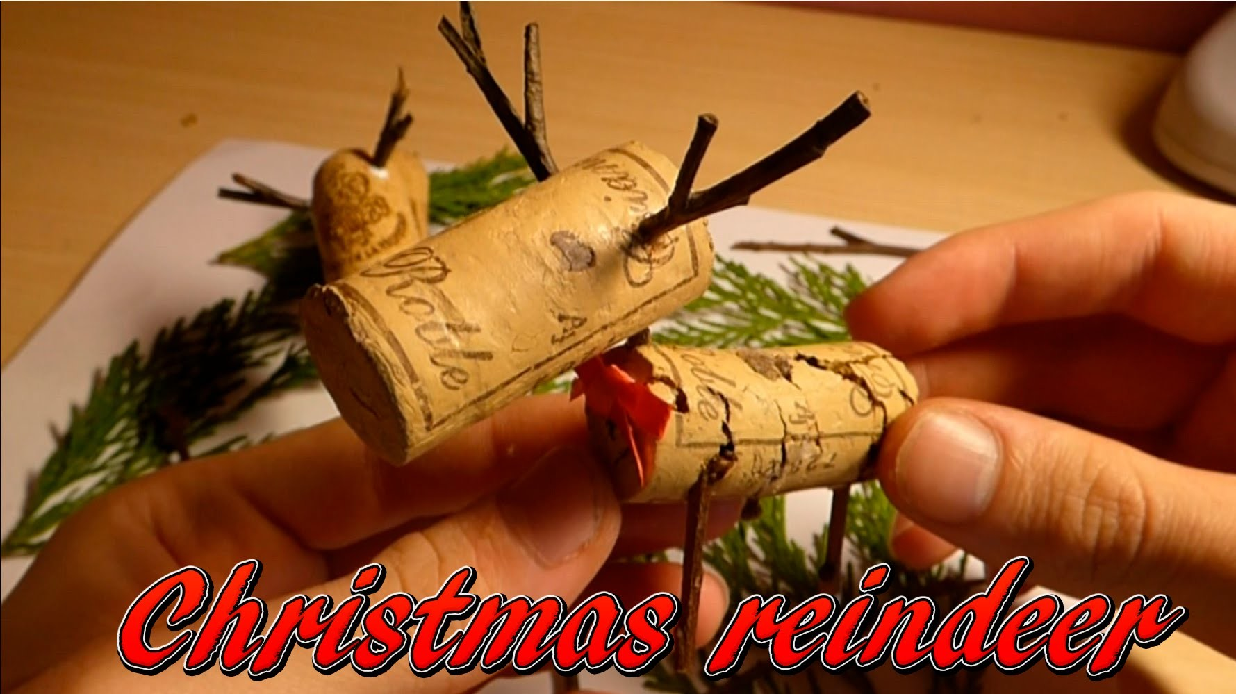 How to make a mini reindeer, Christmas decorations