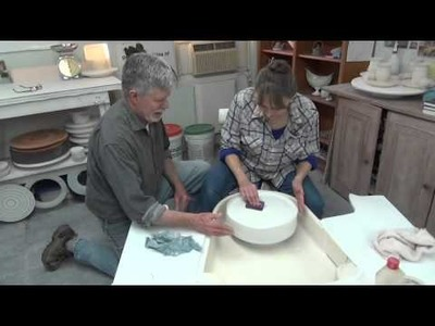 How to make a plaster wheel bat system by Antoinette Badenhorst and David Voorhees