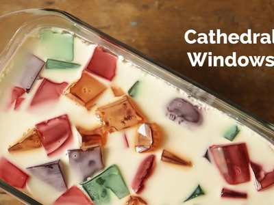 How to Make Cathedral Windows Dessert | Yummy Ph