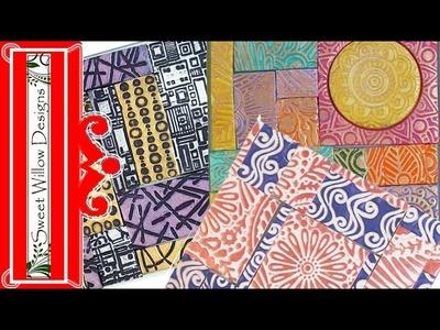 How to Make Polymer Clay Mini Mosaics #CoArtCo
