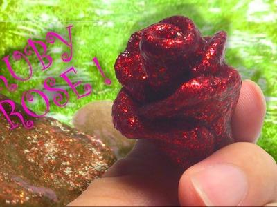 How to make Ruby Rose Slime  - Elieoops