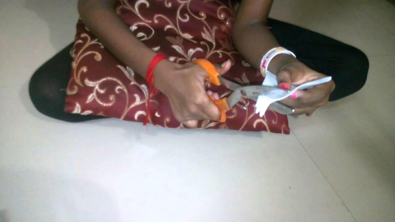 Making  of paper butterfly in tamil