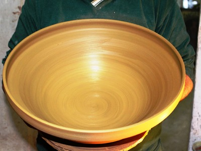 Pottery throwing - How to Make a Pottery Very Large Bowl with Sifoutv Pottery #44