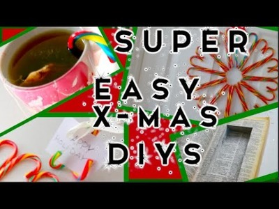 SUPER EASY LAST MINUTE CHRISTMAS GIFTS DIY VIDEO