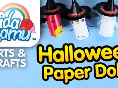 Badanamu Arts & Crafts EP7: Halloween Paper Dolls