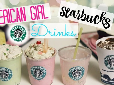 DIY American Girl Starbucks Drinks!