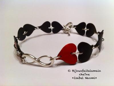 DIY Nespresso How to make a never ending love bracelet