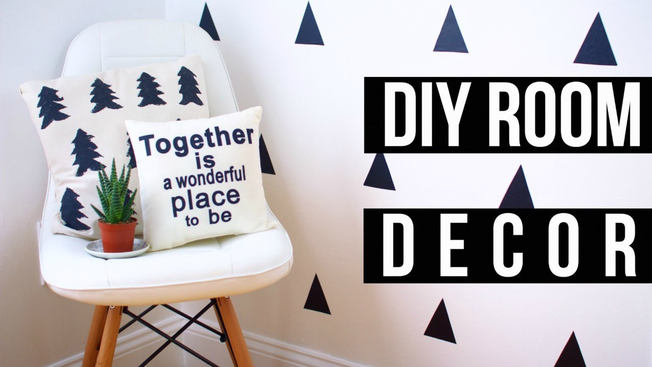 Easy DIY Pinterest Room Decor! 2016