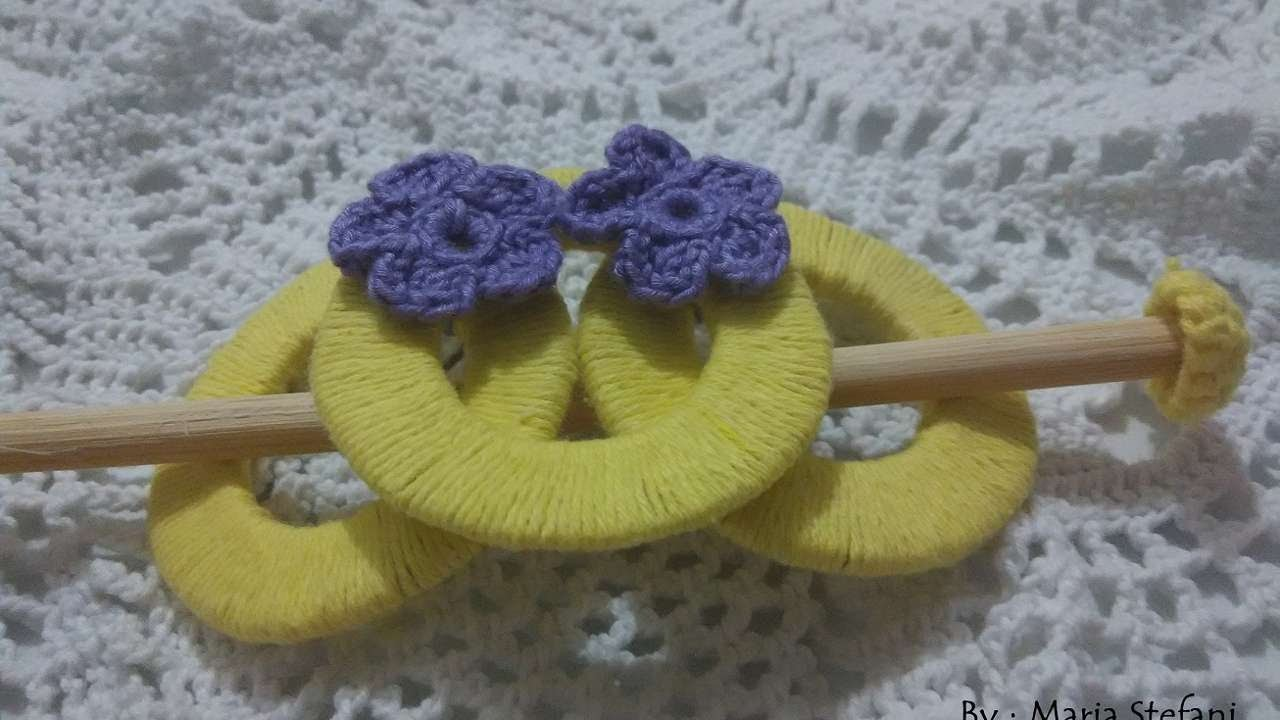 How To Create Elegant Hair Accessories With Yarn - DIY Crafts Tutorial - Guidecentral