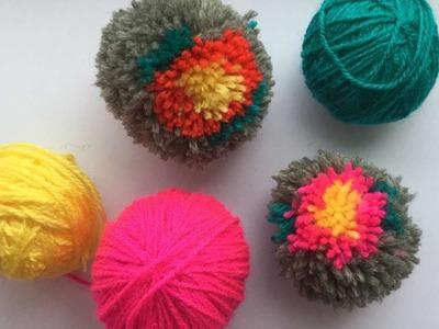 How To Make A Flower Pom Pom - DIY Crafts Tutorial - Guidecentral