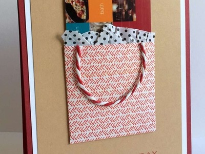 How To Make A Gift Card Holder On A Card - DIY Crafts Tutorial - Guidecentral