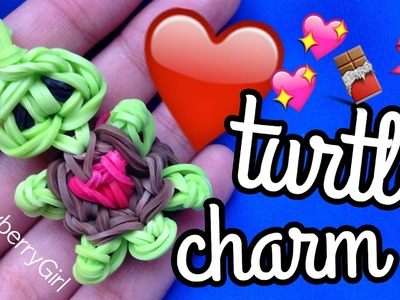 How to Make a Heart Turtle Charm - Rainbow Loom