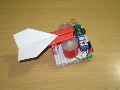 How to Make a Simple Paper Rocket Launcher - Easy paper plane launcher Tutorials