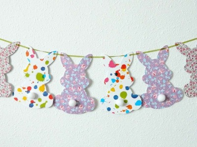 How To Make An Adorable Easter Banner - DIY Crafts Tutorial - Guidecentral