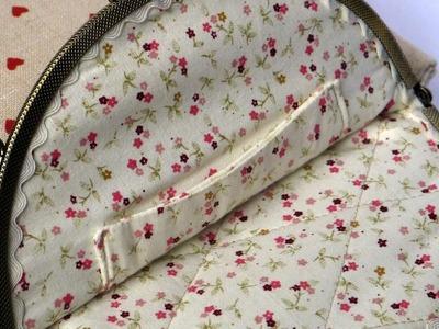 How To Sew A Fabric Pocket For Your Handbag - DIY Crafts Tutorial - Guidecentral