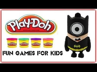 Minion Batman - Play Doh Minion Batman - How to Minion Batman Play Dough